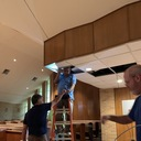 Maintenance Committee getting WiFi into the Church for Live Streaming our Liturgies photo album thumbnail 2